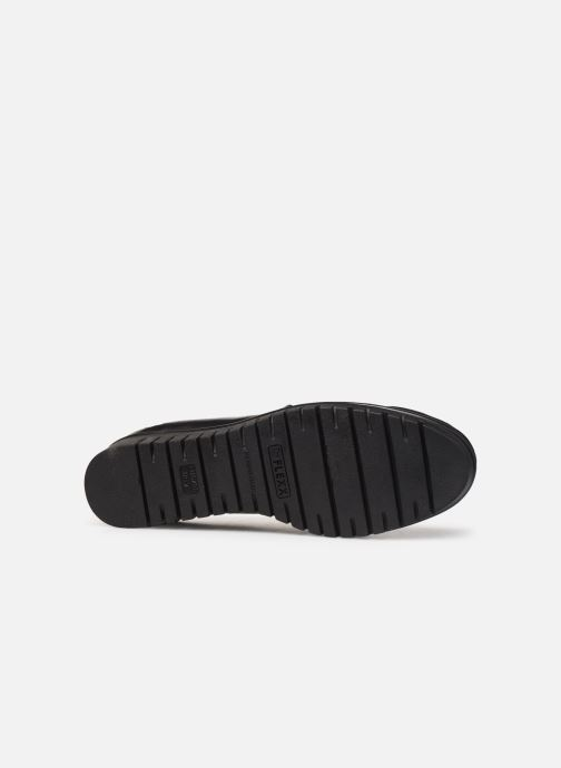 Mocassins The Flexx Gibbous Noir vue haut