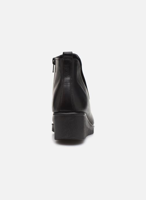 Bottines et boots The Flexx Gravity Noir vue droite