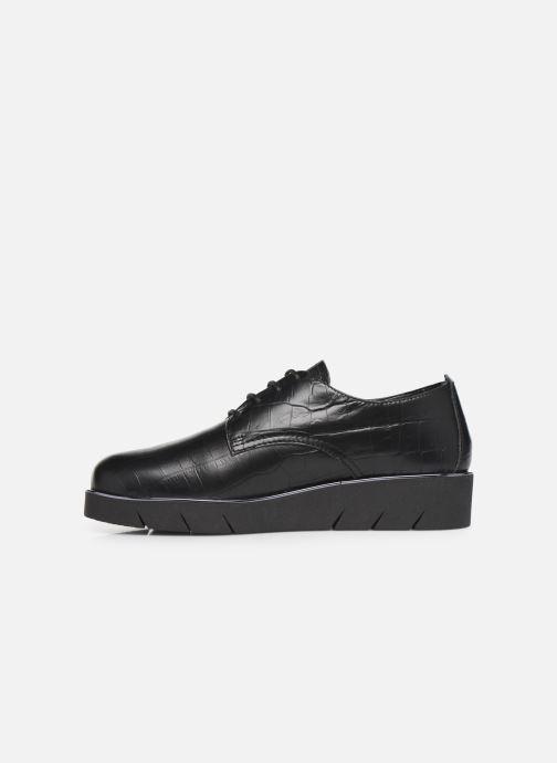 Chaussures à lacets The Flexx Brent Noir vue face