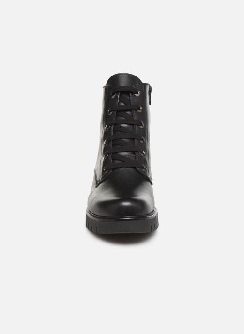 Bottines et boots The Flexx Stripe Golden Noir vue portées chaussures