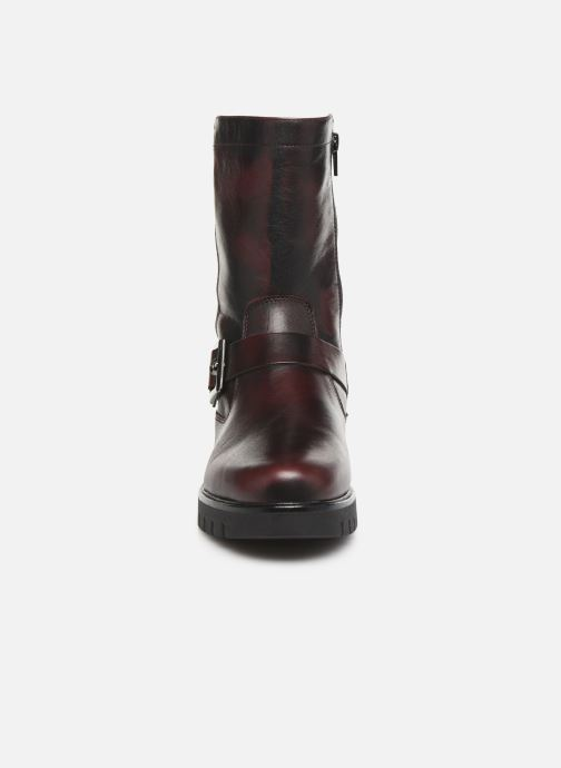 Bottines et boots The Flexx Arley Bike Bordeaux vue portées chaussures
