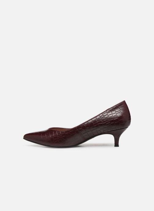 Zapatos de tacón Vionic Josie C Vino vista de frente