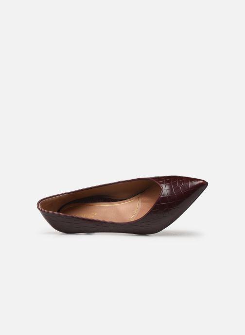 Zapatos de tacón Vionic Josie C Vino vista lateral izquierda