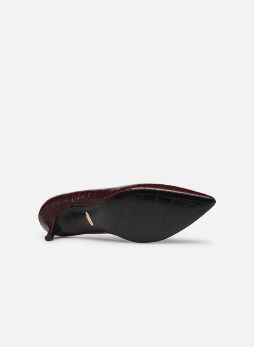 Zapatos de tacón Vionic Josie C Vino vista de arriba