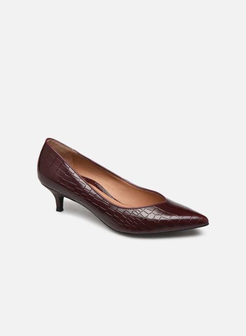 Zapatos de tacón Vionic Josie C Vino vista de detalle / par
