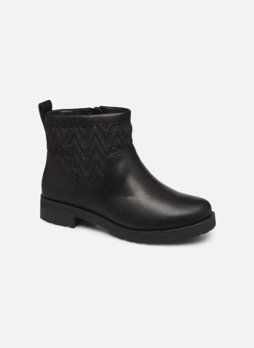 Ankle boots Vionic Maple C Black detailed view/ Pair view