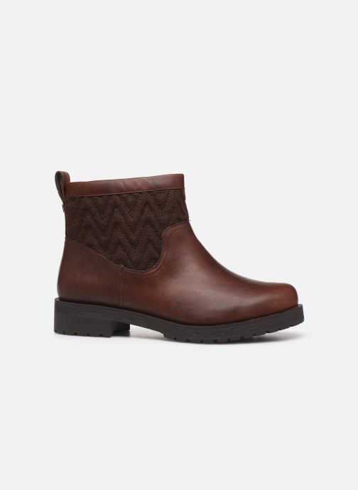 Ankle boots Vionic Maple C Brown back view
