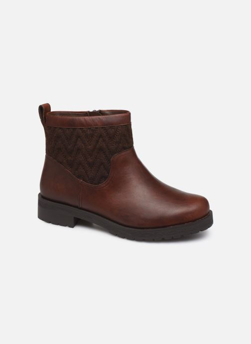 Ankle boots Vionic Maple C Brown detailed view/ Pair view