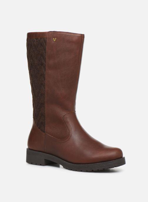 Boots & wellies Vionic Aurora C Brown detailed view/ Pair view