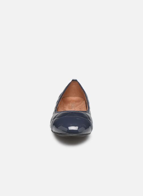 Ballerines Vionic Desiree C Bleu vue portées chaussures