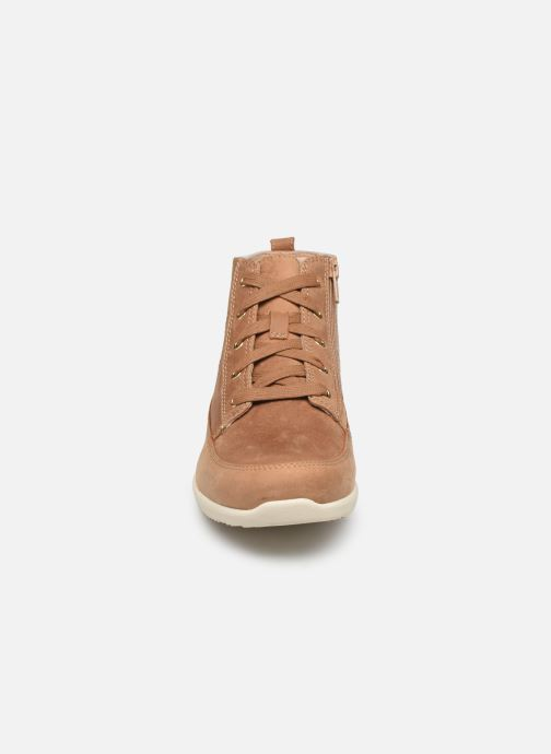Baskets Vionic Shawna C Beige vue portées chaussures