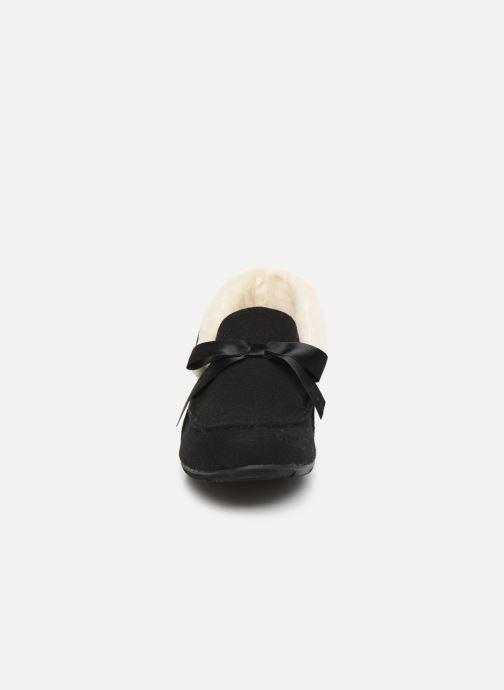 Chaussons Vionic Shirley C Noir vue portées chaussures