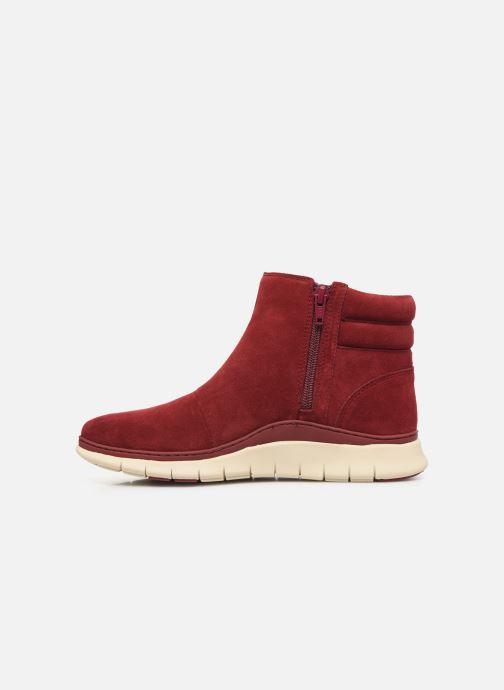 Ankle boots Vionic Arya C Burgundy front view