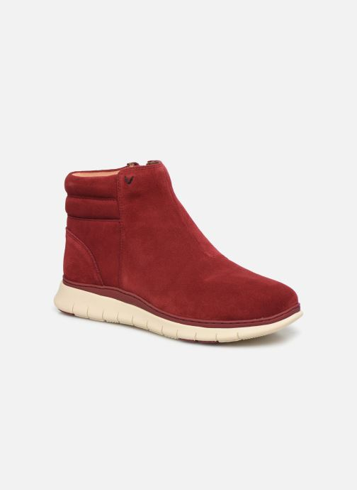 Ankle boots Vionic Arya C Burgundy detailed view/ Pair view