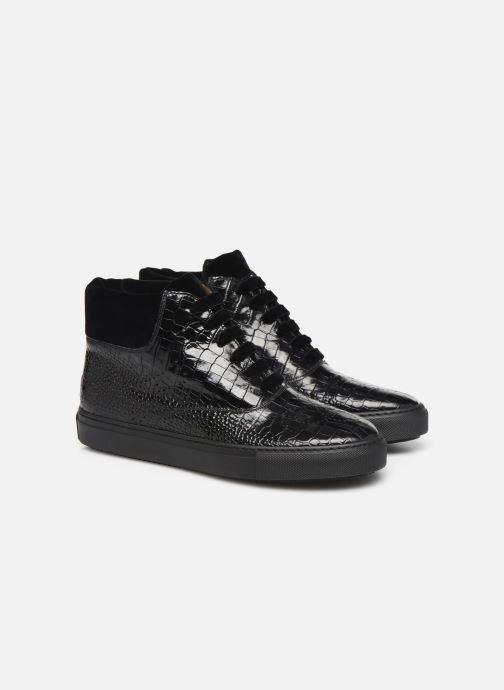 Sneakers Fratelli Rossetti Hobo High Sneaker Zwart 3/4'