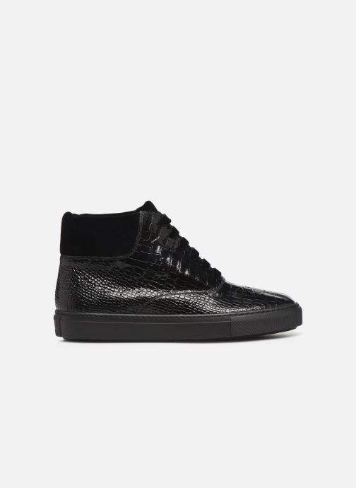 Sneakers Fratelli Rossetti Hobo High Sneaker Zwart achterkant