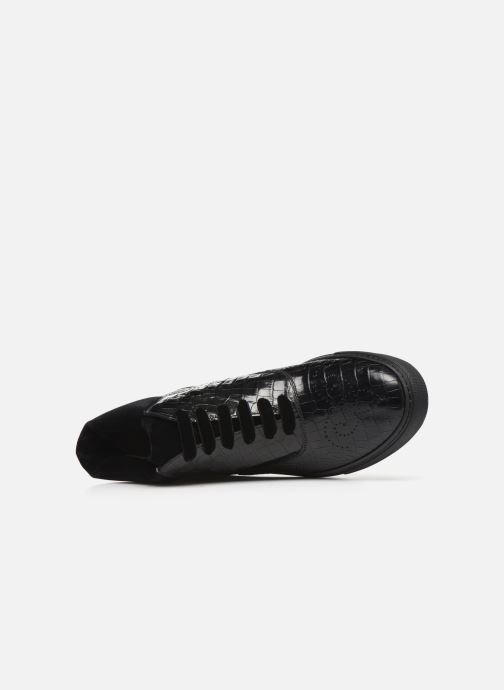Deportivas Fratelli Rossetti Hobo High Sneaker Negro vista lateral izquierda