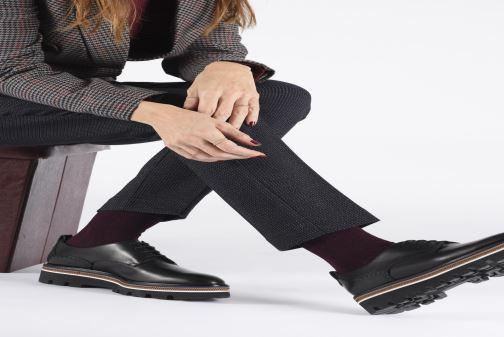Zapatos con cordones Fratelli Rossetti Zigo Derby Negro vista de abajo