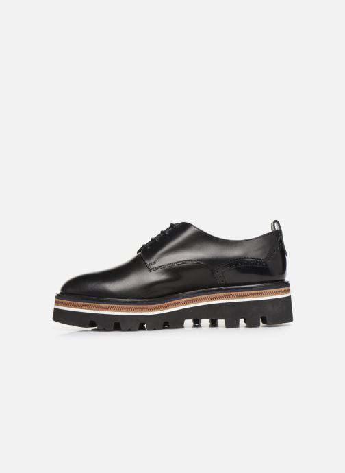 Zapatos con cordones Fratelli Rossetti Zigo Derby Negro vista de frente
