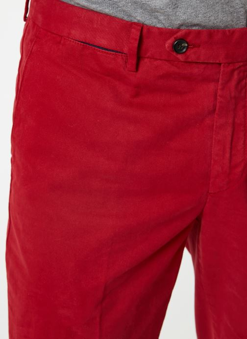 Vêtements Hackett London CORE SANDERSON Rouge vue face
