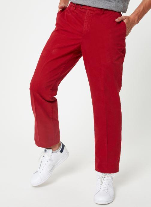 Tøj Hackett London CORE SANDERSON Rød detaljeret billede af skoene