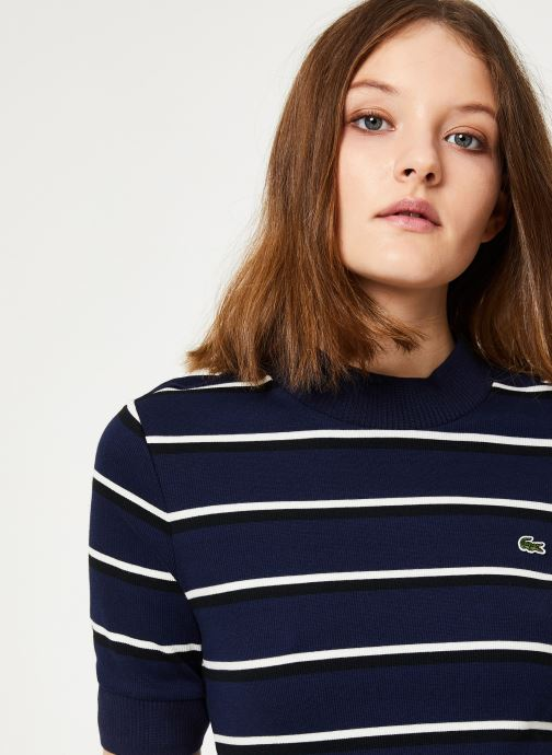 Vêtements Lacoste EF8208-00 Bleu vue face