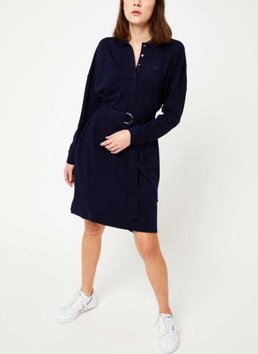 Vêtements Lacoste EF8827-00 Bleu vue bas / vue portée sac