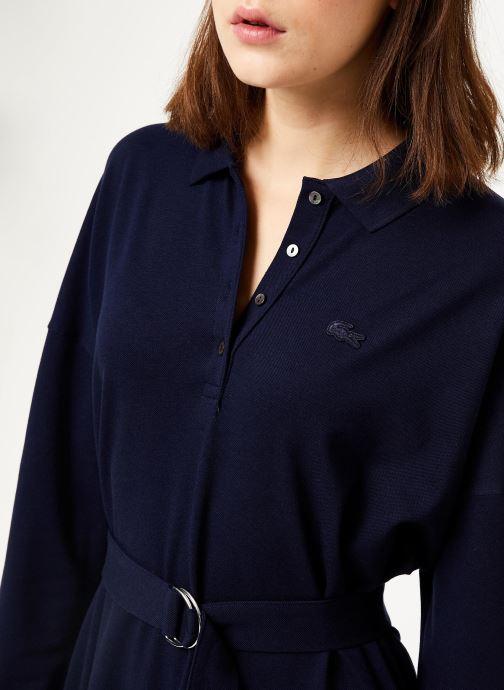 Vêtements Lacoste EF8827-00 Bleu vue face