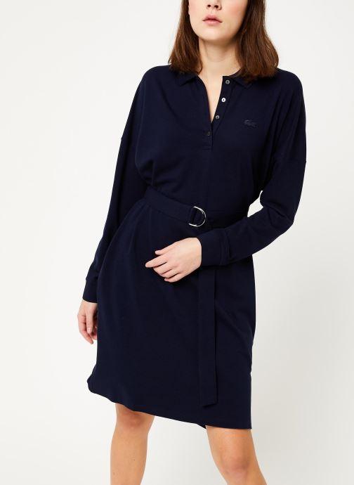 Vêtements Lacoste EF8827-00 Bleu vue détail/paire