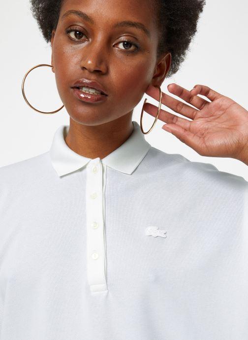 Vêtements Lacoste PF0103-00 Blanc vue face