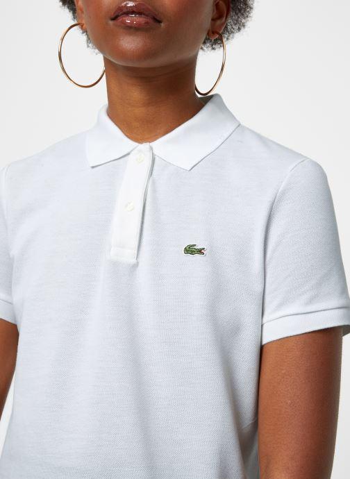 Vêtements Lacoste Polo PF7839-00 Blanc vue face