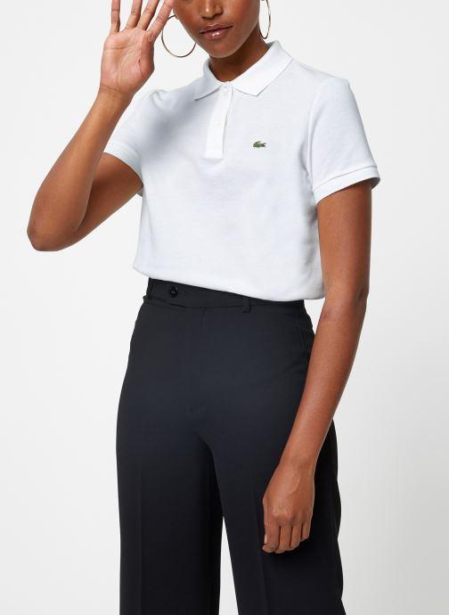 Vêtements Lacoste Polo PF7839-00 Blanc vue droite