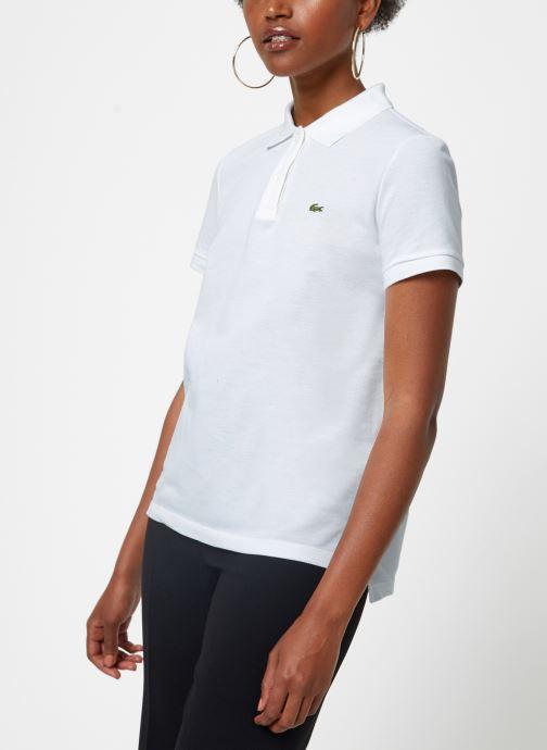 Vêtements Lacoste Polo PF7839-00 Blanc vue détail/paire