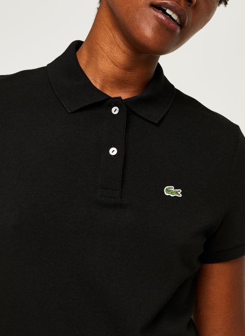 Vêtements Lacoste Polo PF7839-00 Noir vue face