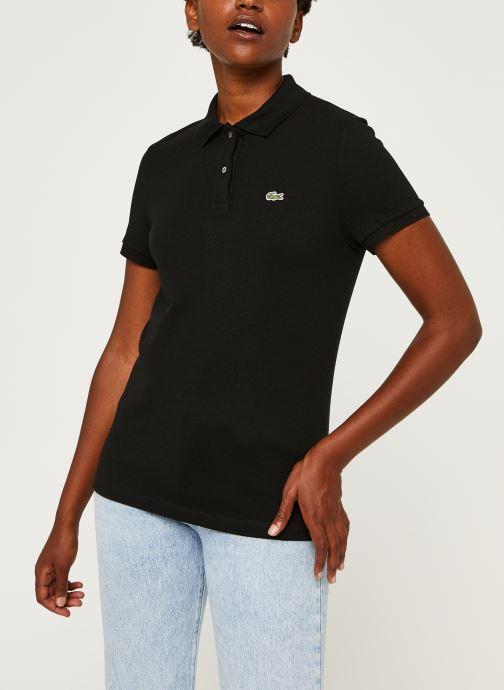 Vêtements Lacoste Polo PF7839-00 Noir vue droite