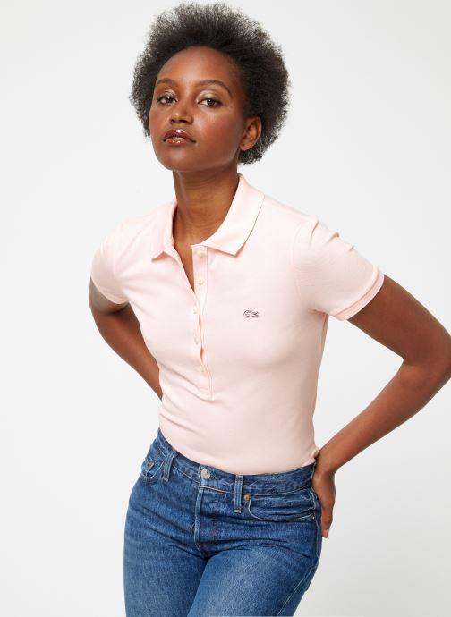 Vêtements Lacoste PF7845-00 Rose vue droite