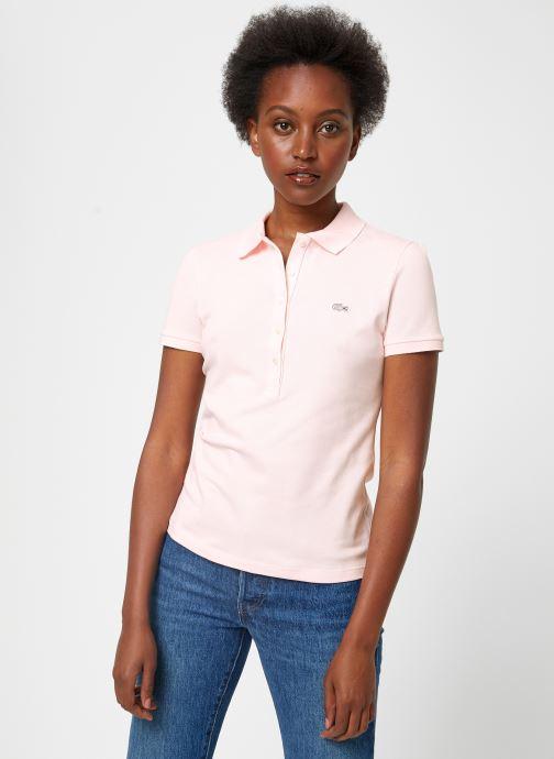 Vêtements Lacoste PF7845-00 Rose vue détail/paire
