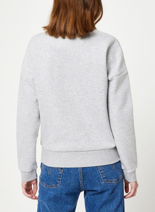 Vêtements Lacoste Sweatshirt SF7917-00 Gris vue portées chaussures