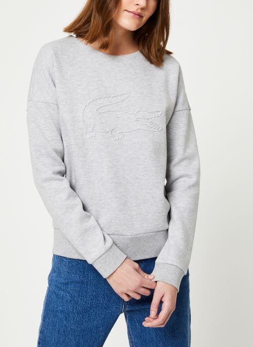 Vêtements Lacoste Sweatshirt SF7917-00 Gris vue droite