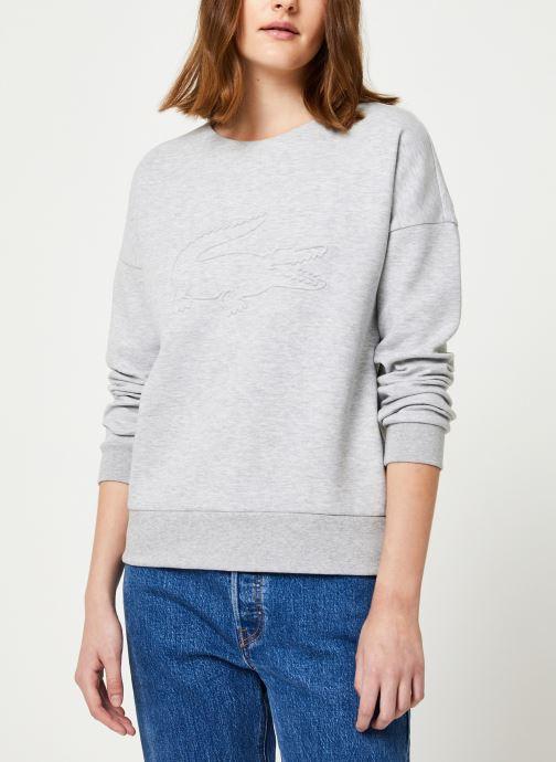 Vêtements Lacoste Sweatshirt SF7917-00 Gris vue détail/paire