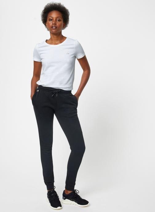 Vêtements Lacoste Pantalon XF3168-00 Noir vue bas / vue portée sac