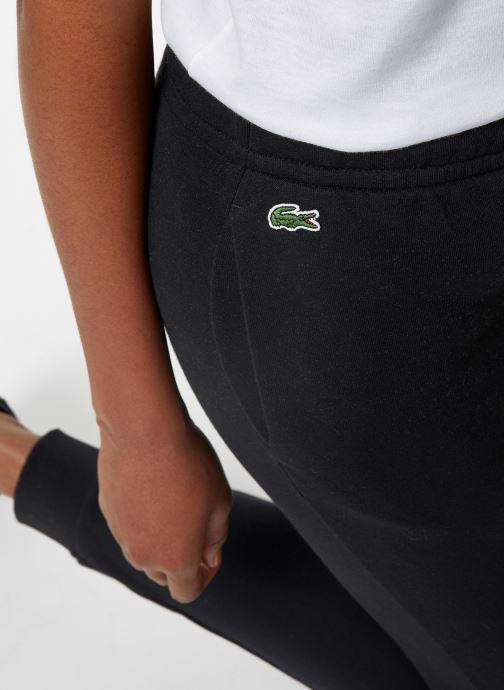 Vêtements Lacoste Pantalon XF3168-00 Noir vue face