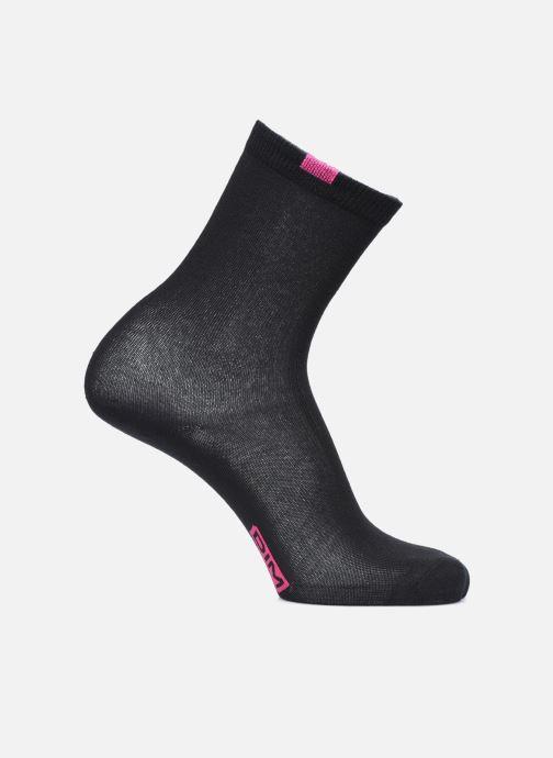 Chaussettes et collants Dim Chaussettes ECODIM W Lot de 5 Noir vue portées chaussures
