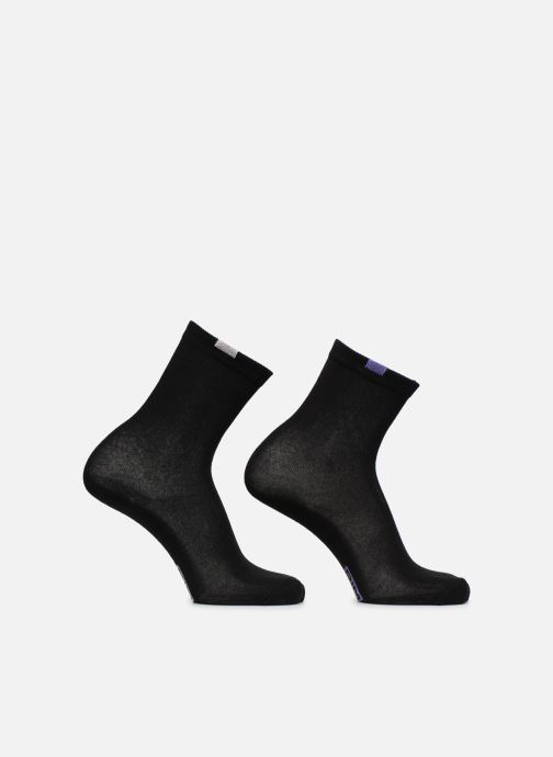 Socks & tights Dim Chaussettes ECODIM W Lot de 5 Black view from the right