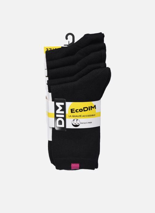 Sokken en panty's Dim Chaussettes ECODIM W Lot de 5 Zwart detail