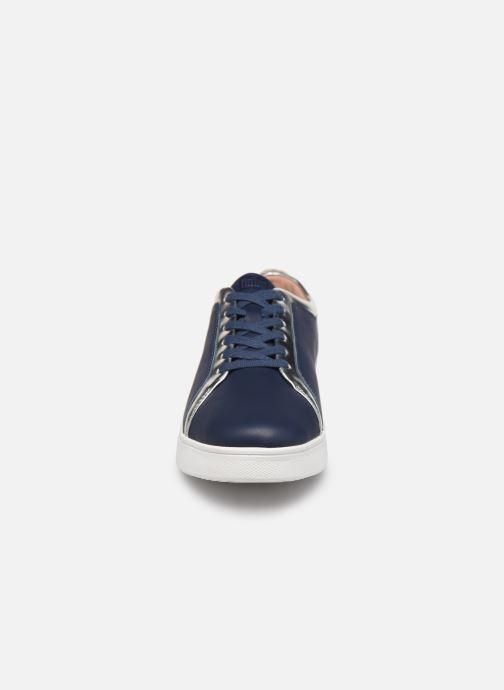 Sneaker FitFlop Rally C blau schuhe getragen