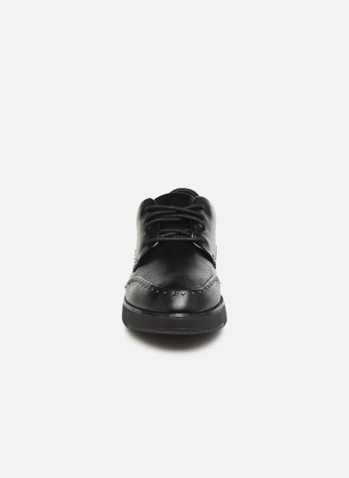 Lace-up shoes FitFlop Kelly C Black model view