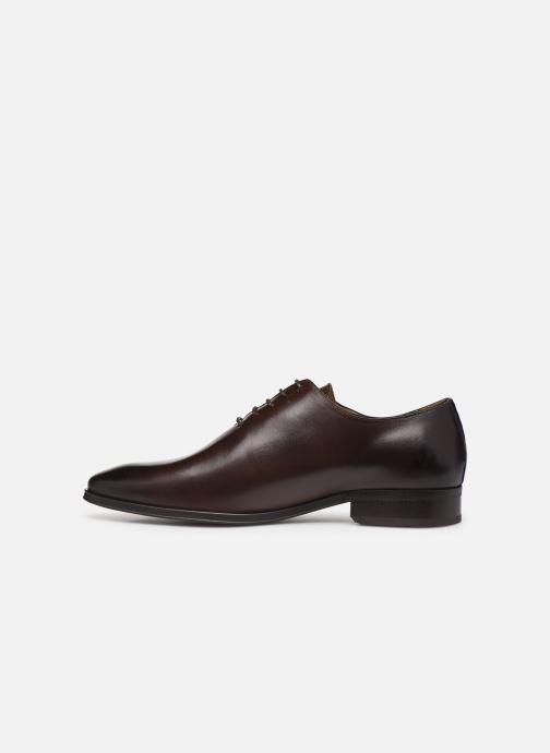 Chaussures à lacets Marvin&Co MACAO Marron vue face
