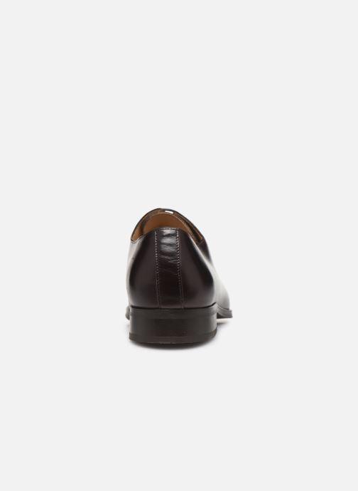 Zapatos con cordones Marvin&Co MACAO Marrón vista lateral derecha