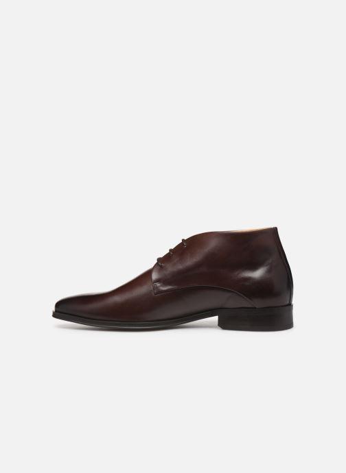 Bottines et boots Marvin&Co MENPHIS Marron vue face